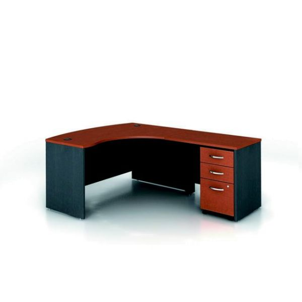 bbf Series C Professional Configuration - Auburn Maple finish by Bush Furniture