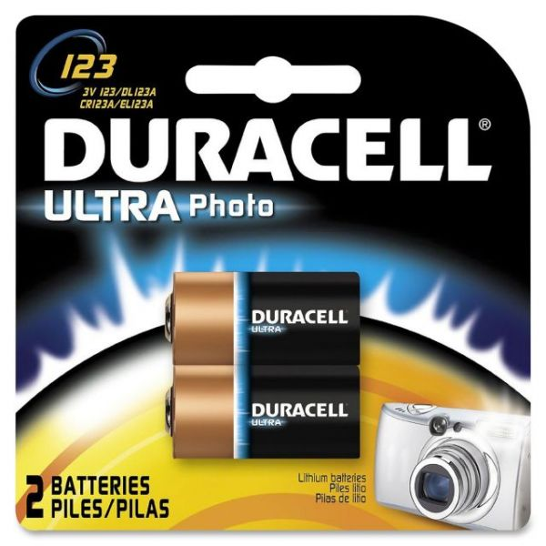 Duracell Lithium Photo 3V Battery - DL123A