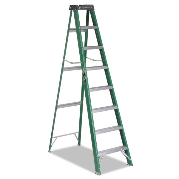 Davidson 8' Folding Fiberglass Step Ladder