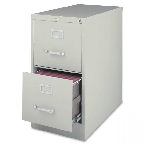 Lorell Commercial-Grade 2 Drawer Vertical File Cabinet