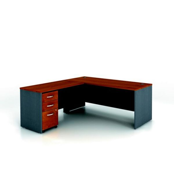 bbf Series C Professional Configuration - Natural Cherry finish by Bush Furniture