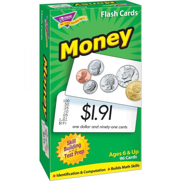 Trend Money Flash Cards