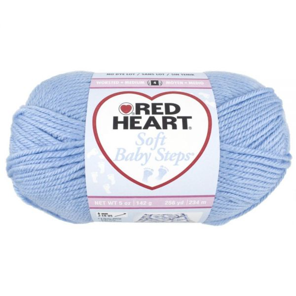 Red Heart Soft Baby Steps Yarn - Baby Blue