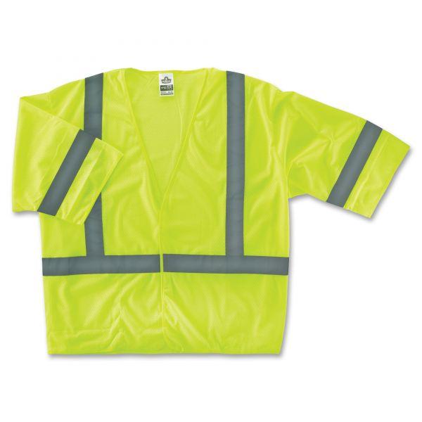 GloWear Class 3 Lime Economy Vest