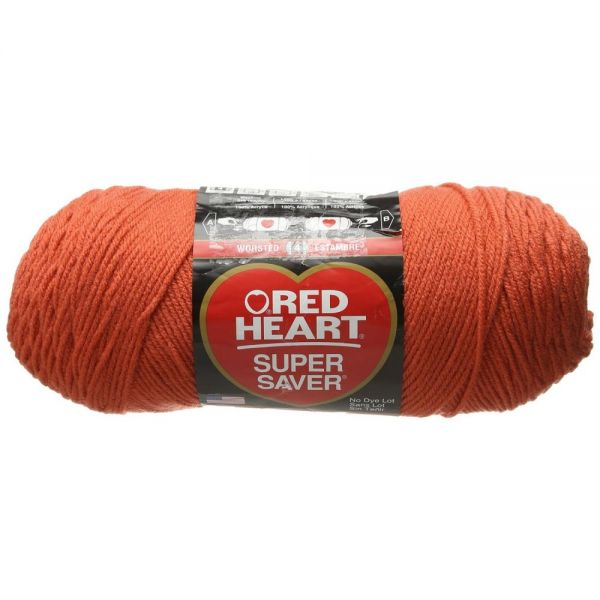 Red Heart Super Saver Yarn - Coral