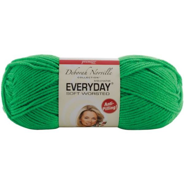 Deborah Norville Collection Everyday Soft Worsted Yarn - Electric Green