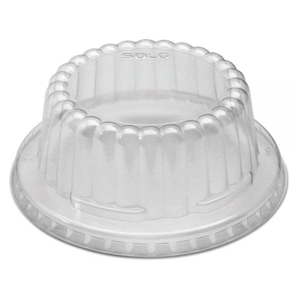 SOLO Cup Company Flat-Top Dome Takeout Container Lids