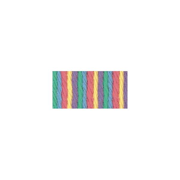 Bernat Handicrafter Cotton Yarn - Rainbow