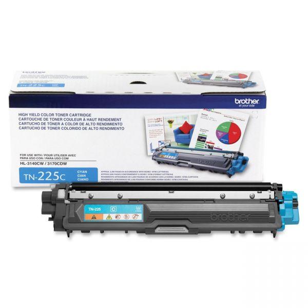Brother TN-225C High-Yield Toner Cartridge