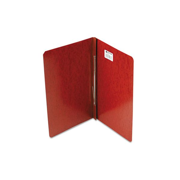 """ACCO Presstex Report Cover, Side Bound, Prong Clip, Legal, 3"""" Cap, Red"""