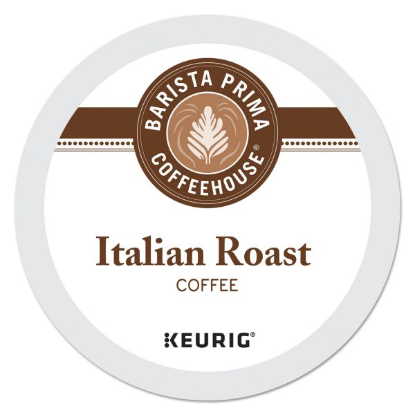 Barista Prima Coffee House Italian Roast Coffee K-Cups