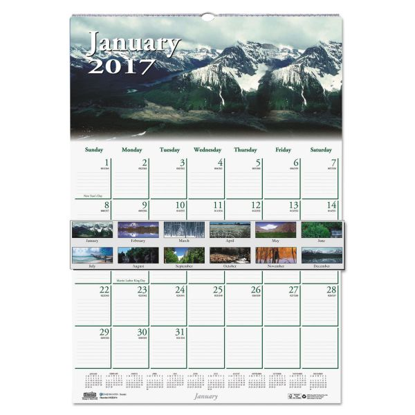 House of Doolittle Earthscapes Nature Monthly Wall Calendar