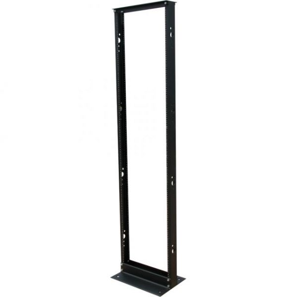 Tripp Lite 45U 2-Post Open Frame Rack Threaded Holes 800lb Capacity