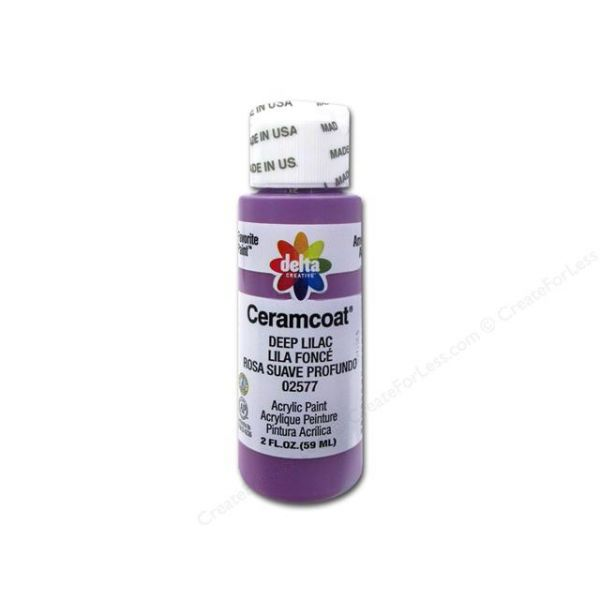 Ceramcoat Deep Lilac Acrylic Paint