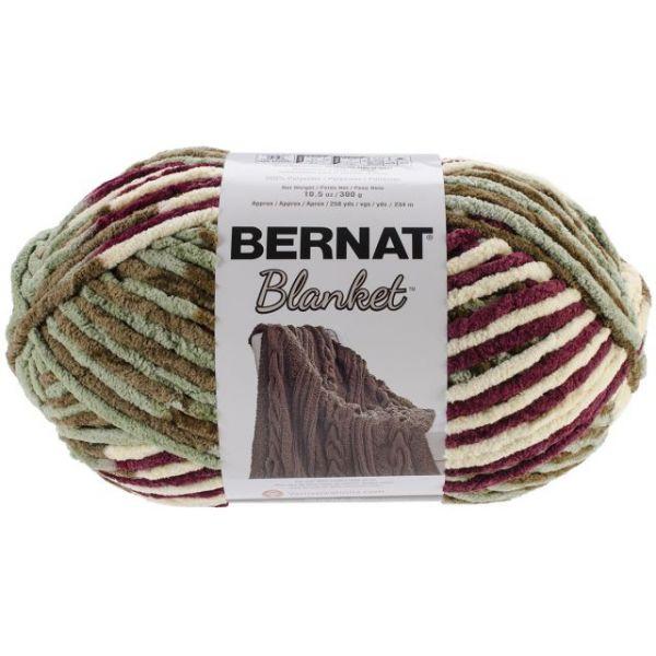 Bernat Blanket Big Ball Yarn - Plum Fields