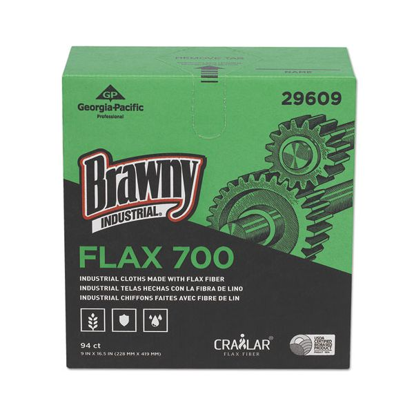 Brawny Industrial FLAX 700 Medium Duty Cloths