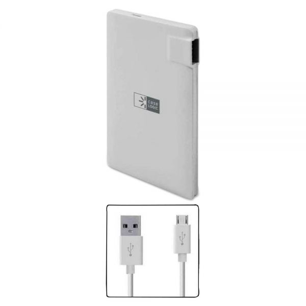Case Logic Power Bank, 2200 mAh, White