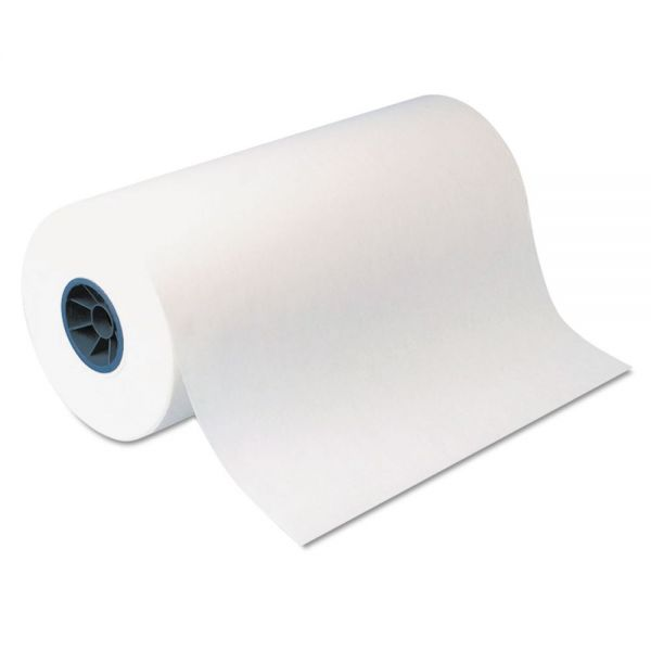 "Dixie Kold-Lok Polyethylene-Coated Freezer Paper Roll, 24"" x 1100 ft, White"