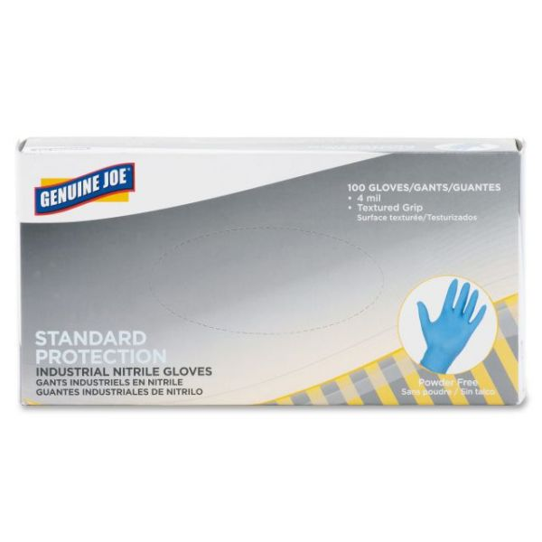 Genuine Joe Standard Industrial Nitrile Gloves