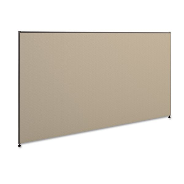 HON Versé Office Panel, 72w x 42h, Gray