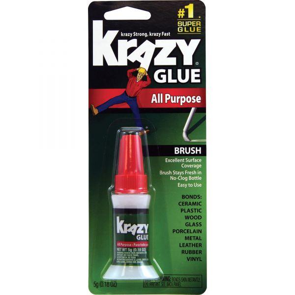 Krazy Glue All-Purpose Brush On Super Glue