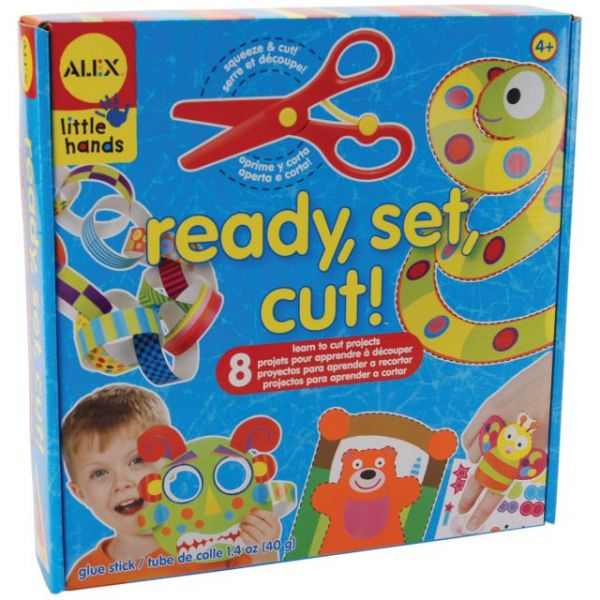 ALEX Toys Little Hands Ready, Set, Cut! Kit