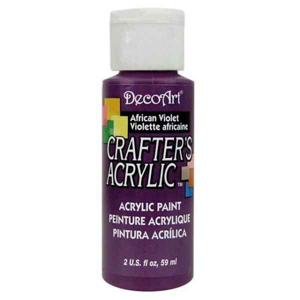 Deco Art African Violet Crafter's Acrylic Paint