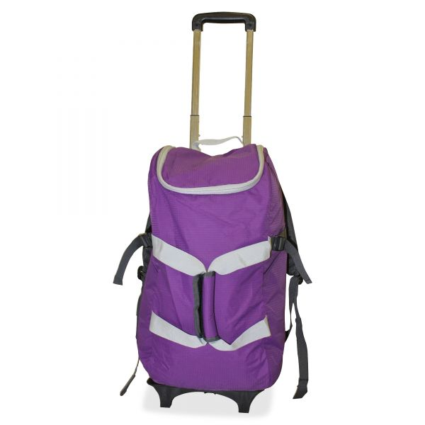 "Dbest Travel/Luggage Case (Rolling Backpack) for 17"" Notebook, Travel Essential - Purple"