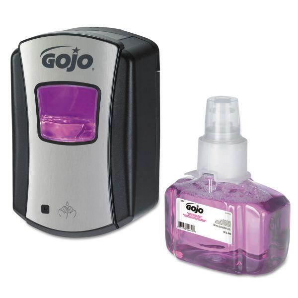 GOJO LTX-7 Touch-Free Antibacterial Foam Handwash Kit