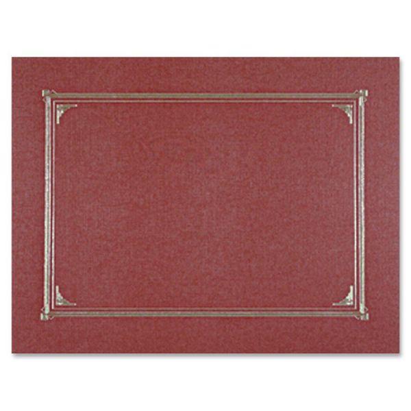 Geographics Burgundy Certificate Holders