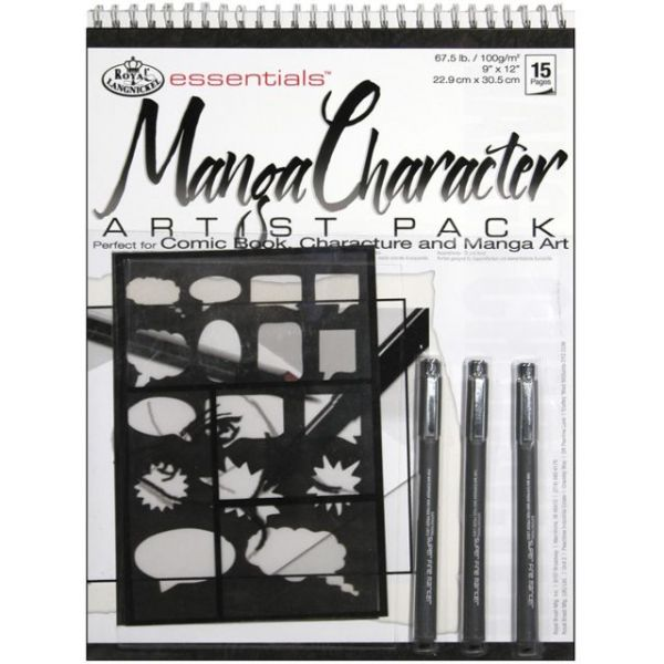 Essentials Manga Character Artist Pack