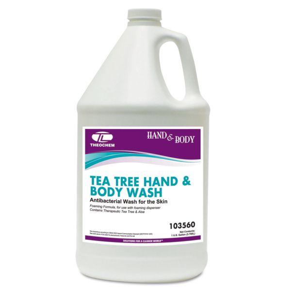 Theochem Laboratories Tea Tree Foaming Hand & Body Wash Refills