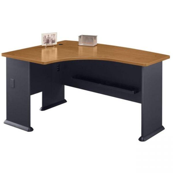 bbf Series A Left L-Bow Desk by Bush Furniture