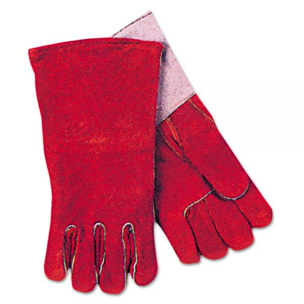 Anchor Brand Quality Welding Gloves, Russet, Large, Pair