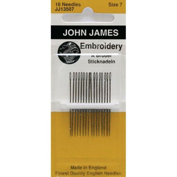 John James Embroidery Hand Needles