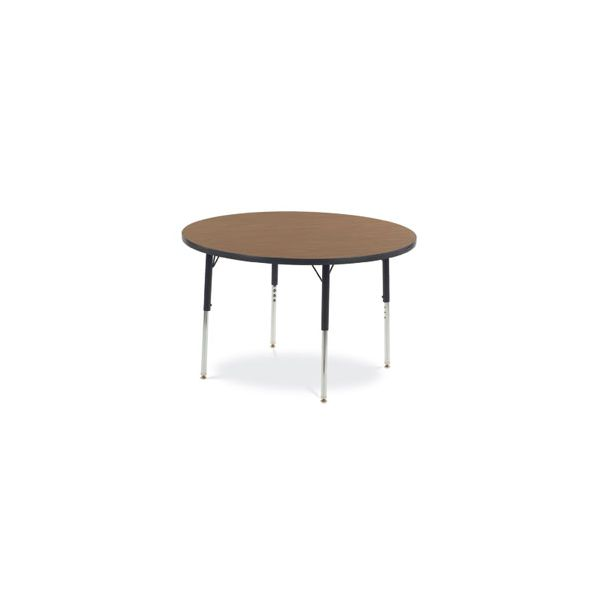 4000 Series Height Adjustable Round Activity Table