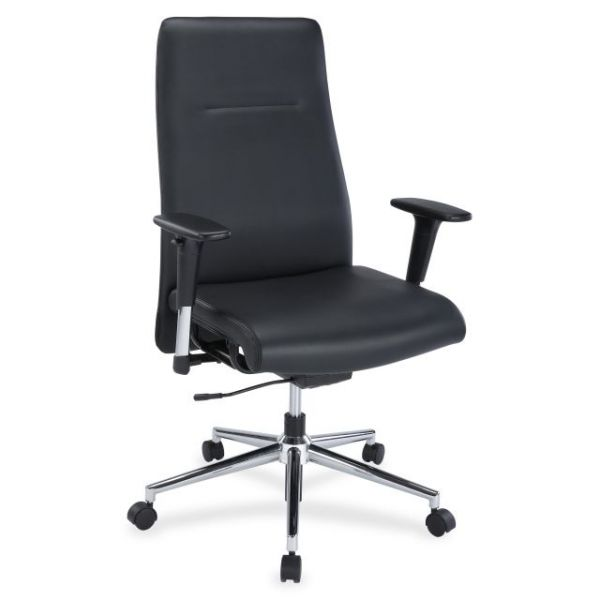Lorell Leather Suspension Office Chair