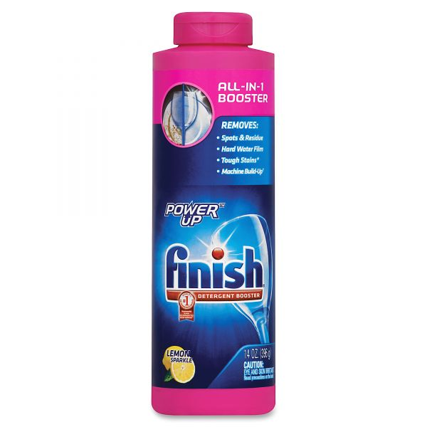 FINISH Power Up Powder Dishwasher Soap Booster Agent