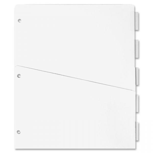Sparco Binder Pocket Tab Dividers