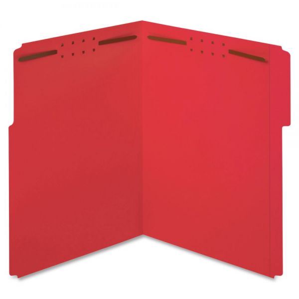 Globe-Weis Top-Tab File Folders With Fasteners