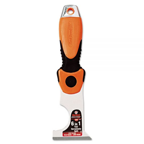 Red Devil ERGO EZ GRIP 7-in-1 Multi-Purpose Painter?s Tool