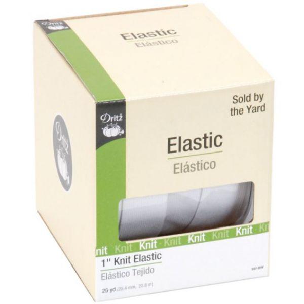 """Knit Elastic 1""""X25yd"""