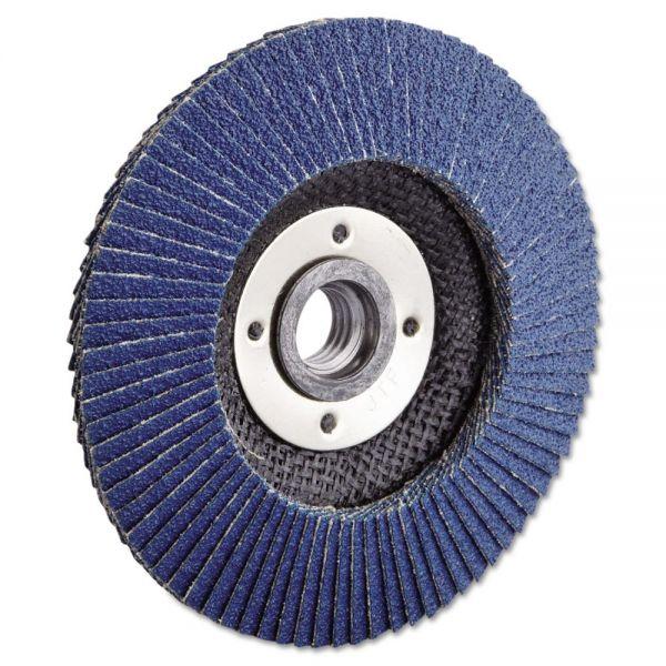 """Weiler Vortec Pro Abrasive Flap Disc, 4-1/2"""", 60Z, 5/8""""-11A.H."""