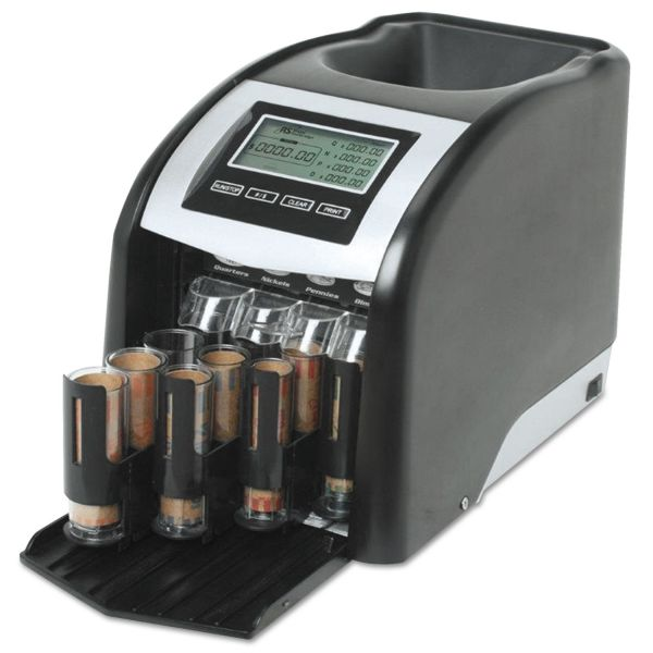 Royal Sovereign 4-Row Digital Coin Sorter