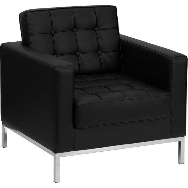 Flash Furniture Contemporary Black Leather Chair
