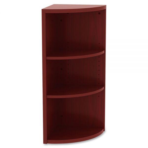Lorell 3-Shelf Book Rack