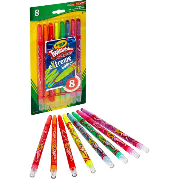 Crayola Twistables eXtreme Colors Crayons