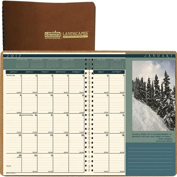 House of Doolittle Landscapes Monthly Planner