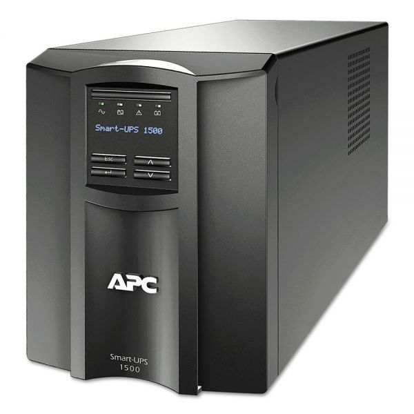 APC SMT1500 Smart-UPS LCD Backup System, 8 Outlets, 1500 VA, 459 J