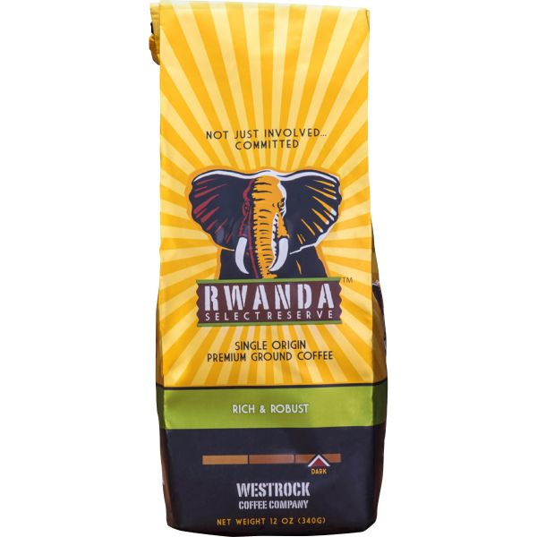 Westrock Rwanda Select Reserve Dark Ground Coffee